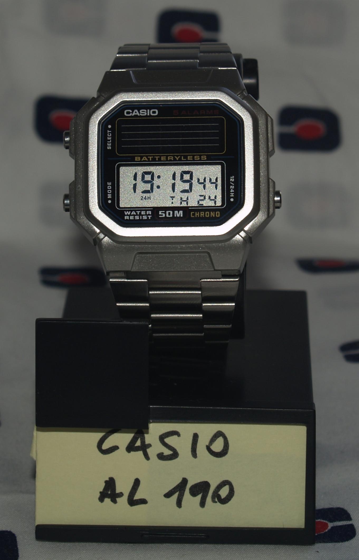 Review Casio AL 190 – Relojes Asequibles