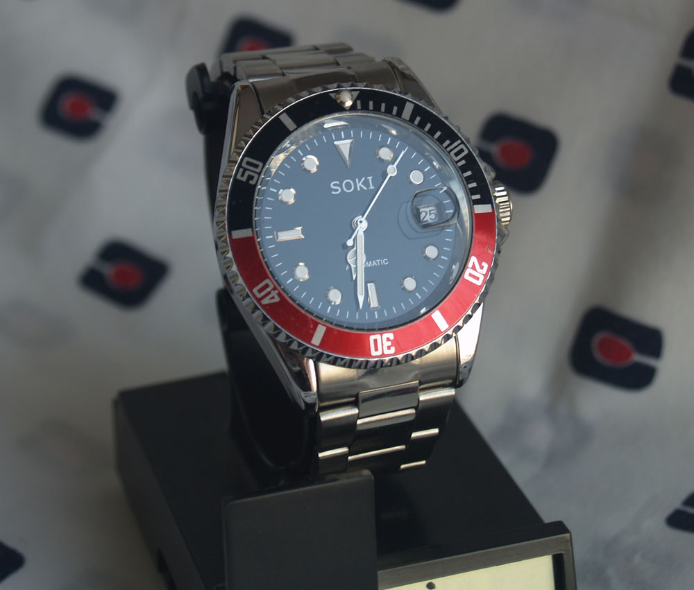 Review Soki Submariner Coke – Relojes Asequibles