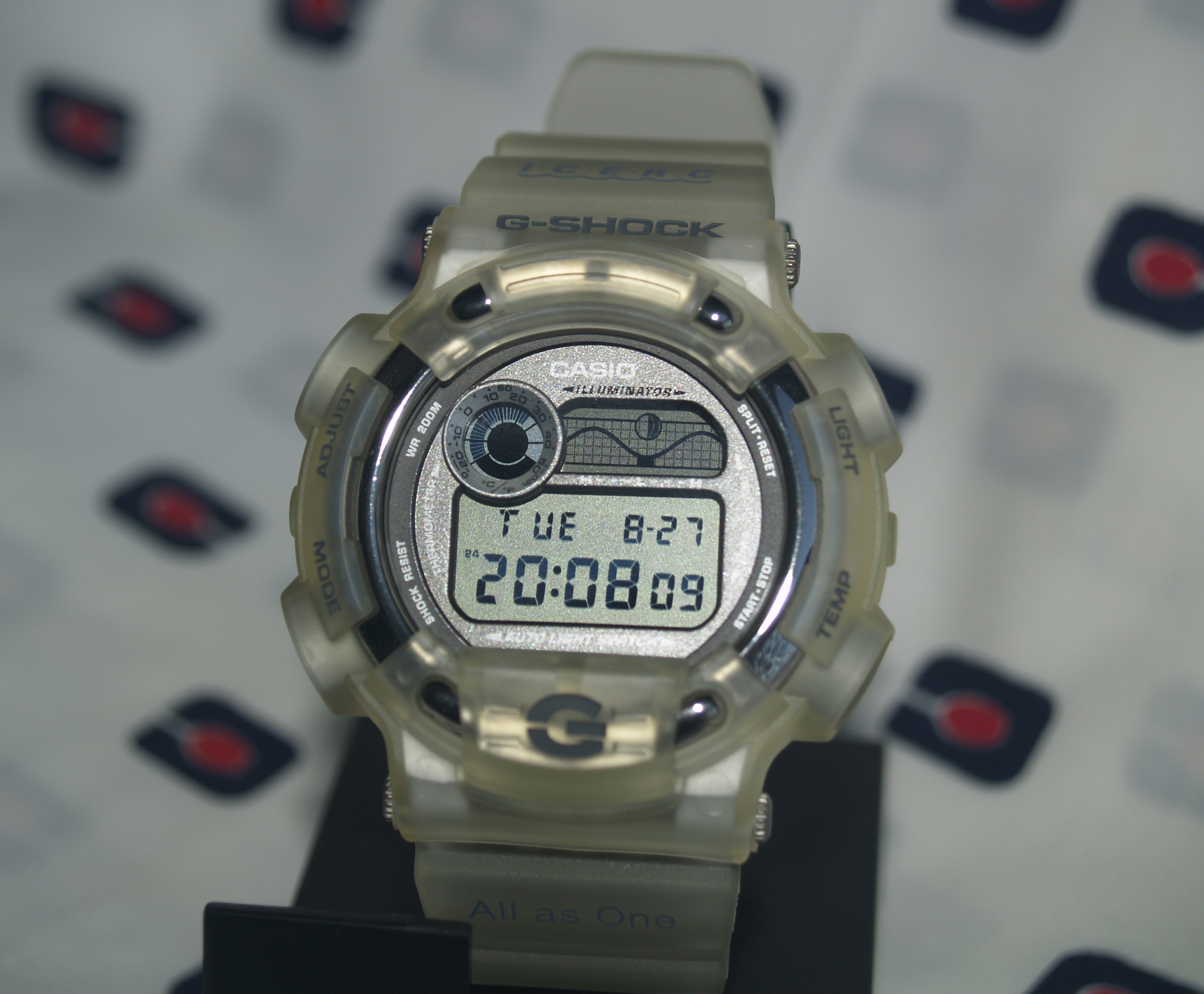 Review Casio G-Shock DW-8600 Fisherman